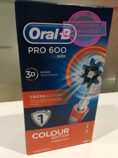 B0597425 Spazzolino elettrico Oral b 3d 20000 Puls.8800 Osc. 1test. Arancione
