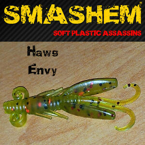 HAWG-Soft-Plastics-by-034-SMASHEM-034-Genuine-Oz-Brand-amp-Seller