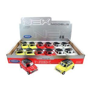 Voiture-miniature-MINI-COOPER-1300-Oldtimer-Aleatoire-Couleur-Auto-1-34-39-LGPL