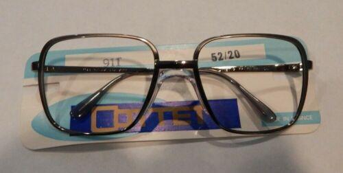 Vintage Cottet 911 Gunmetal 52//20 Made in France Metal Eyeglass Frame NOS #S1