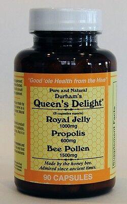 Bee Pollen - Royal Jelly - Bee Propolis in 1 capsule
