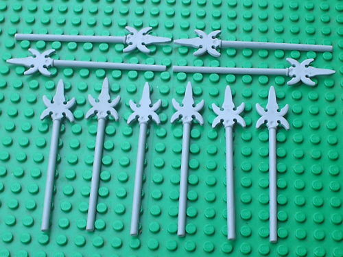 LEGO CHATEAU CASTLE Minifig MdStone Spear ref 43899 Set 7041 7037 7079 7040 ..
