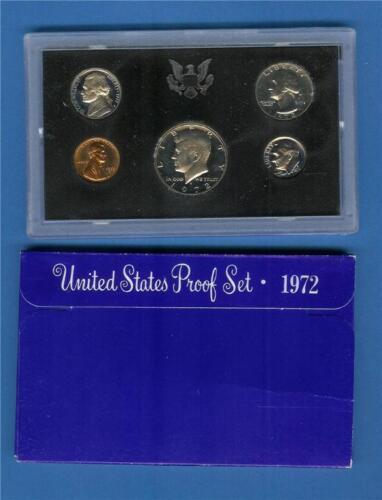 Complete 1972 S Proof Set