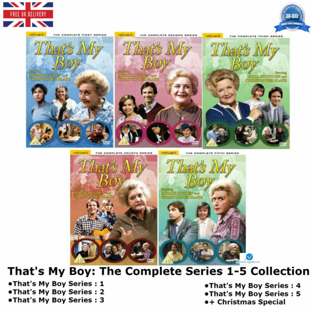 That's My Boy 1-5 The Complete Comedy Series 1 2 3 4 5 Yorkshire Television DVD