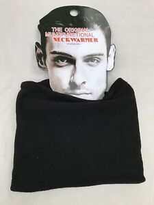 New-Thermal-Polar-Fleece-Black-Neckwarmer-Snood-Scarf-Hat-Ski-Mens-amp-Ladies