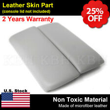 Fits Mazda Cx 9 10 15 Center Console Lid Armrest Leather Synthetic Cover Gray Fits Mazda