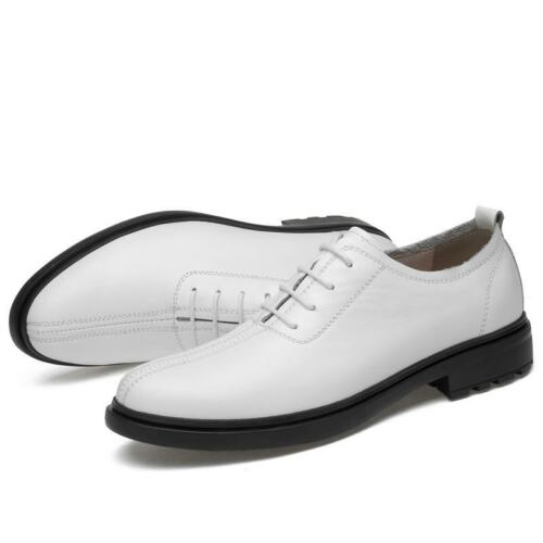 Mens Leather Cross Strappy Cap Toe Business Weddind Casual Oxfords Dress Shoes