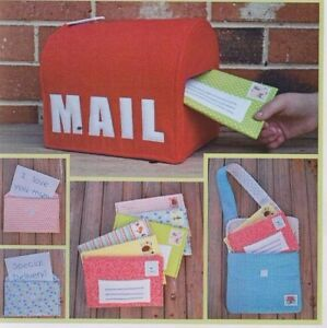 PATTERN-Special-Delivery-fun-postbox-and-letters-toy-PATTERN
