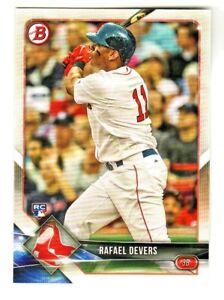2018-Bowman-25-RAFAEL-DEVERS-RC-Rookie-Boston-Red-Sox