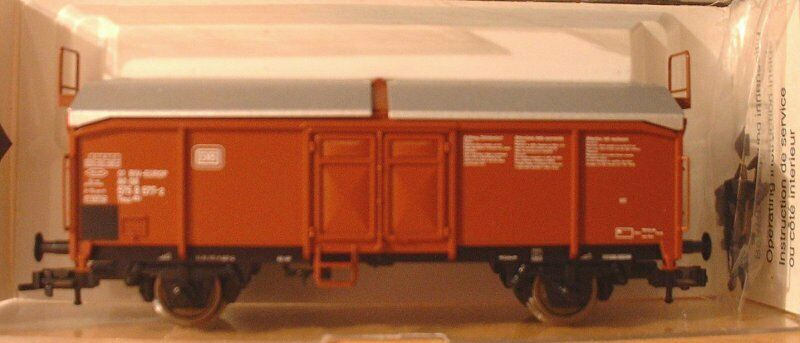 Fleischmann 5333 K h0 Car with Sliding Roof TMS 851 of DB time 4 pack