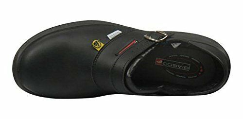 Giasco Free Semi Open Back Leather Work Shoe Anti-Slip /& Oil Resistant Sole