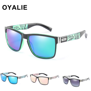 Men-Women-Polarized-Sport-Sunglasses-Outdoor-Driving-Fishing-Square-Glasses-New