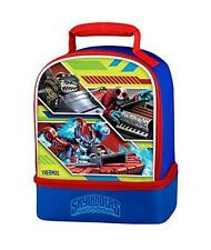 Thermos Brand Insulated Dual Compartment SKYLANDERS Lunch pail box bag Blue Boys
