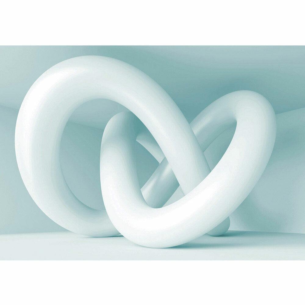 Fototapete Abstrakt Schlingen 3D Modern Art liwwing no. 599