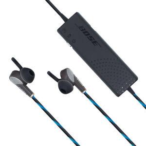 Bose QC20 In-Ear Headphones QuietComfort 20 Noise-Cancelling Earphones - Blue