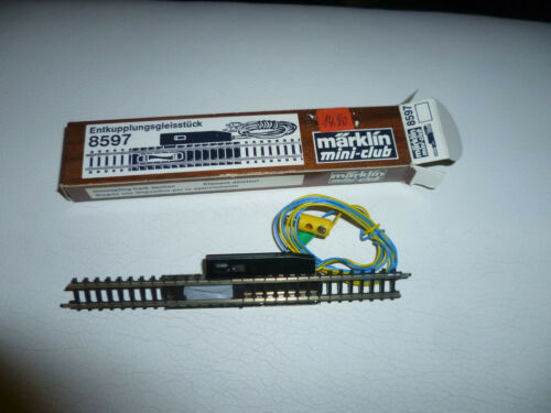 8597 Entkupplungsgleis 110 mm gerades Gleis Mini Club