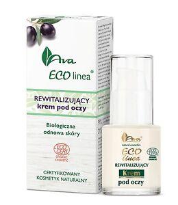 AVA Eco Linea rewitalizujący krem pod oczy/ Revitalizing eye contour cream