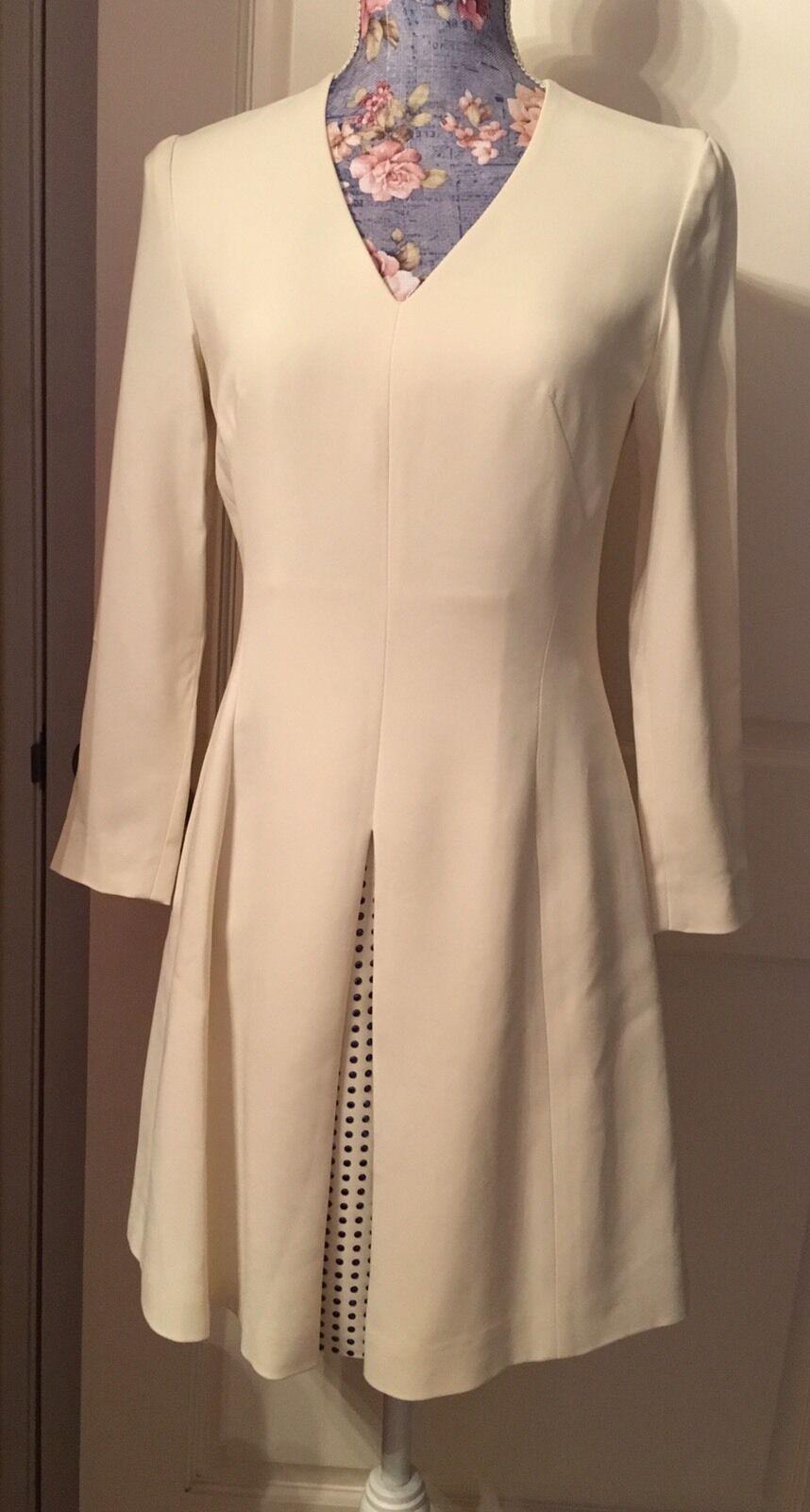 NWT 435  Just Cavalli Ivory Short Dress, Size US4(IT40)
