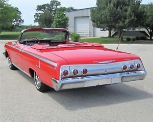 1962 Chevy Impala SS Chevrolet PhotoArt 10mil PhotoStock Classic Car Vari Sizes