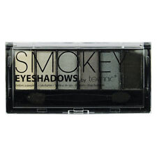 Technic 6pc Ahumados Sombras para los ojos Paleta Doble extremo aplicador