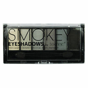 Technic-6-PIECES-Smokey-Ombres-a-paupieres-Palette-Double-bout-Application