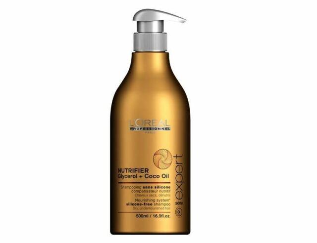 Loreal Serie Expert Nutrifier Glycerol + Coco Oil Shampoo  500 ml