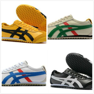 check out de481 4e24a Details about Mens Leather ASICS Womens Onitsuka Tiger Sneakers Lazy Casual  Shoes YY256