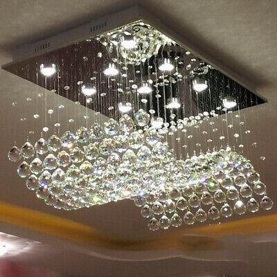 Crystal Led Ceiling Light Dining Room