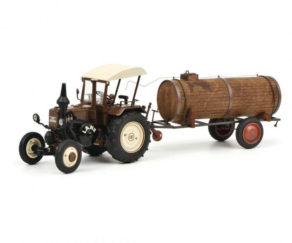 Schuco 1 32 Lanz Bulldog Tractor with roof and manure trailer 450769900