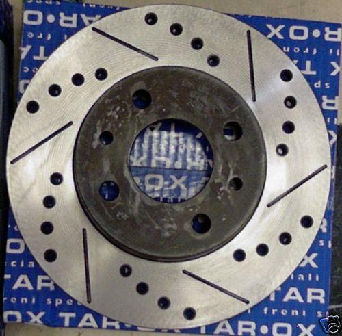 Dischi Freno sportivi Posteriori Tarox 0781 SJ o G88 Lancia Delta Evoluzione EVO