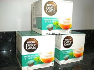 NESCAFE-DOLCE-GUSTO-48-MARRAKESH-STYLE-TEA-PODS-NEW-FREE-P-amp-P-3-BOXES-X-16