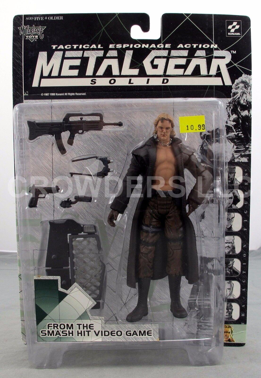 Metal gear solid taktische spionage handeln flüssigkeit schlange mcfarlane 98 nip variante