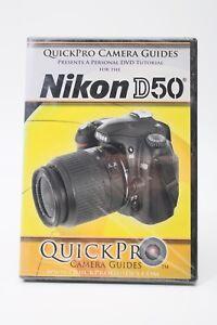 quickpro camera guides nikon d50 dvd instruction manual disc rh ebay com nikon d50 manual printable nikon d50 manual printable