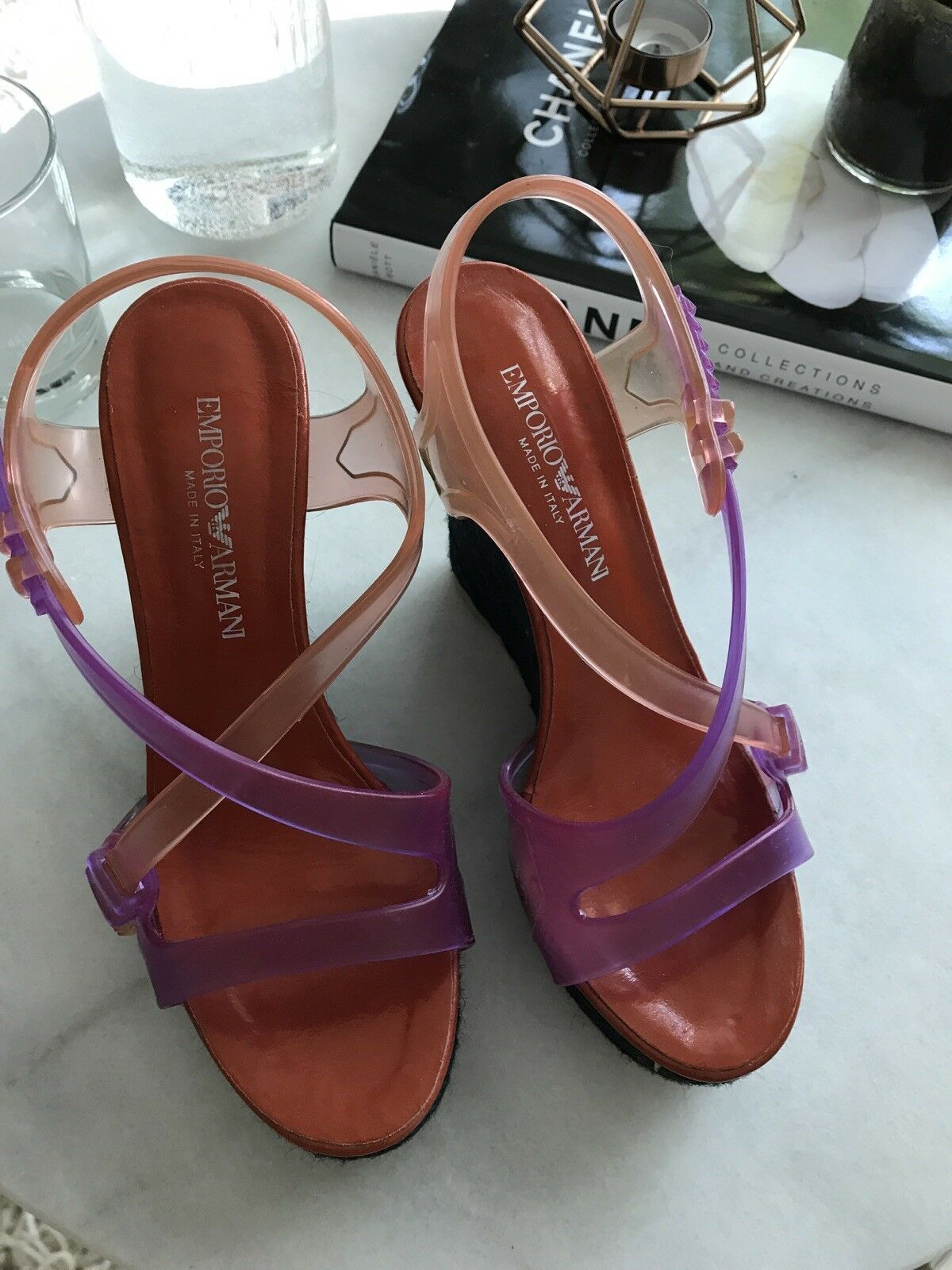 Emporio Armani Schuhe Sandale Wedges