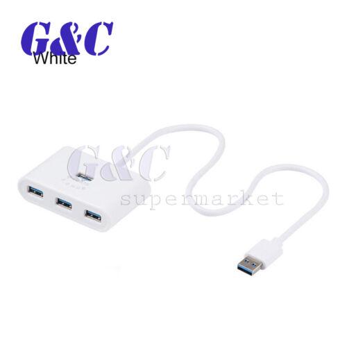 Adapter 4 Ports Splitter HUB USB Hub USB 3.0 For Macbook Laptop Computer HDD