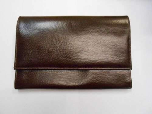 Genuine Leather Travel//Document Wallet *2 Styles* Made in England