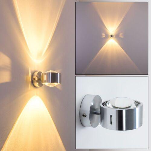 Wandleuchte Design Flur Lampen Wohn Zimmer Leuchten Aluminium Küchen Up/&Down