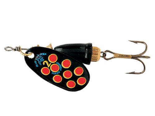 Blue Fox Vibrax Hot Pepper 10g #4 VMC Hook Spinner Vielen Farben
