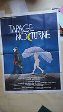 AFFICHE CINEMA 160 x 120 CM EROTIQUE TAPAGE NOCTURNE