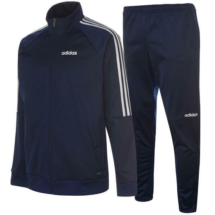 Adidas Sereno Herren Trainingsanzug Tracksuit Jogginganzug navy S-2XL