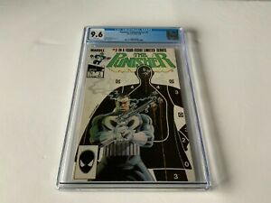 PUNISHER LIMITED SERIES 3 CGC 9.6 WHITE PAGES MIKE ZECK MARVEL COMICS 1986