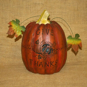 Pumpkin-Give-Thanks-Cornucopia-Fall-Thanksgiving-Decoration-Figurine