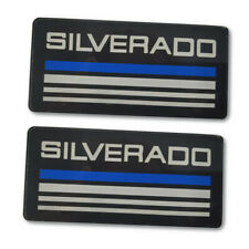 For Chevrolet Silverado Cab Decal Emblem Badge Side Roof Pillar Plate Fits 88 98