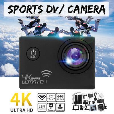 Winksoar Ultra WiFi 4K HD 16MP Sport Action DV Camera DVR Camcorder Waterproof