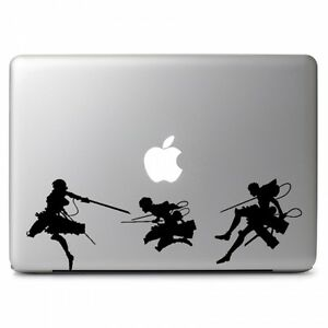 Image is loading Attack-on-Titan-Vinyl-Sticker-Decal-for-Macbook-