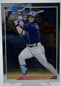 Wander Franco 2020 Bowman Heritage Chrome Prospect Rookie SP 92CP-WF RAYS HOT