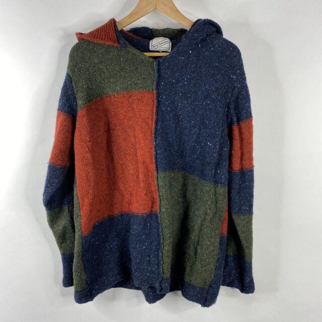 Kerry Woollen Mills Sweater Size Medium Navy Womens Wool