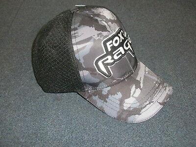 Fox Rage Camo Flat Peak Trucker Cap