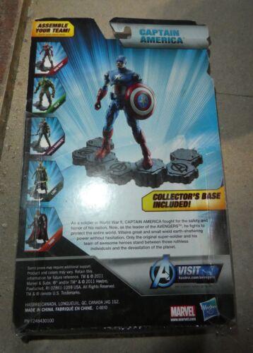 MARVEL Captain America Walmart Exclusive Avengers Figure Collectors base Hasbro