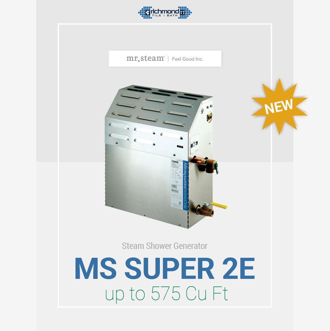 Mr Steam Mssuper2ec1 Eseries Steam Bath Generator For Sale Online Ebay